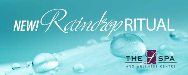 L Spa Raindrop Ritual